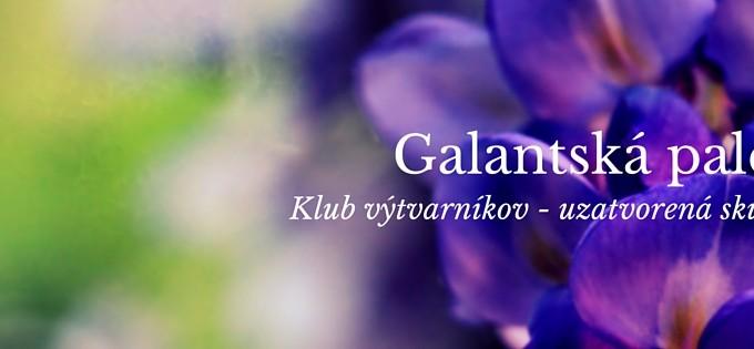 Facebook stránka Galantská paleta